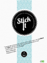 Stick It Adhesive - Die Cut Adhesive Sheets - Handy - 5 Sheets